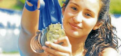 Deportista Intercolegiada: Valentina Becerra Quintanilla