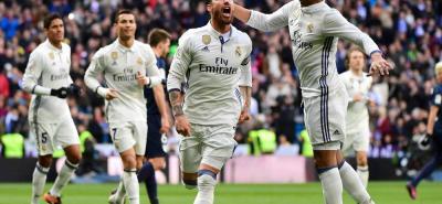 El defensa español Sergio Ramos fue la gran figura del Real Madrid en la victoria 2-1 ante el Málaga, en juego por la fecha 19 de la Liga de España. Fue un triunfo que le permitió al conjunto 'merengue' proclamarse campeón de invierno.