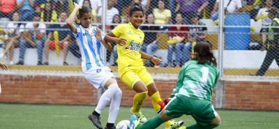 Atlético Bucaramanga se quedó con el clásico metropolitano de la Liga Femenina