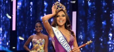 Cartagena es la nueva Señorita Colombia; Santander es primera princesa