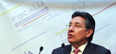 El fiscal pidió seguridad jurídica sobre los milicianos de las Farc.