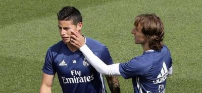 """Zidane dice que está de """"puta madre"""" y no habla de James Rodríguez"""