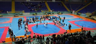 Los mejores taekwondistas del país se dieron cita en la 'Ciudad Bonita' para tomar parte del Gran Open Santander G1, que se llevó a cabo este fin de semana. El medallista olímpico Óscar Muñoz compitió en el evento y demostró sus condiciones.