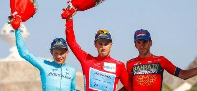 El ciclista boyacense fue el ganador de la quinta etapa del Tour.
