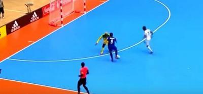 Vea el mejor gol del Mundial de Futsal de Colombia, anotado por el tailandés Thueanklang