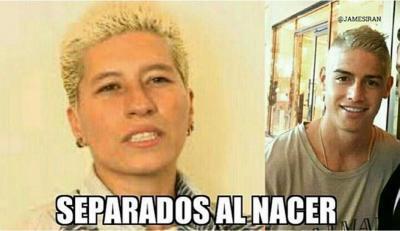 Los mejores memes sobre el cambio de look de James Rodríguez