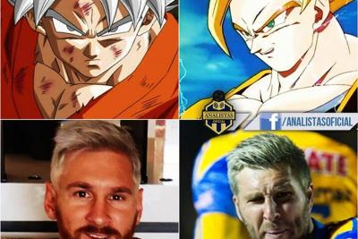 Los memes del nuevo look de Messi
