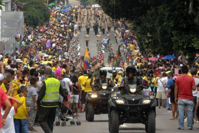 Así celebraron los bumangueses el Día de Independencia