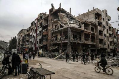 Ataques contra Guta Oriental en Siria supera los 500 muertos en una semana