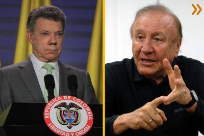 Mientras llaman populista a Rodolfo Hernández, el Alcalde le envía preguntas a Santos