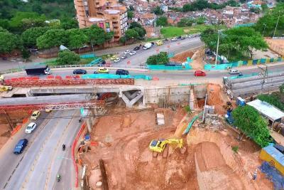 Así será la implosión del puente de Conucos de Bucaramanga