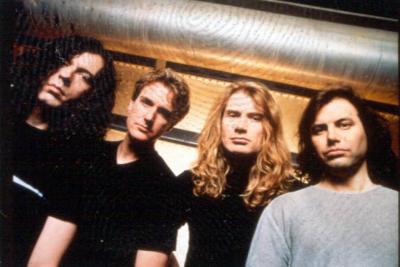 El exbaterista de Megadeth murió en pleno escenario