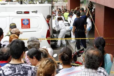 Se conoce video del homicidio de un vigilante en la Plaza Satélite de Bucaramanga