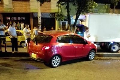 Video registró ataque de sicarios que dejó un hombre herido y otro muerto en Bucaramanga