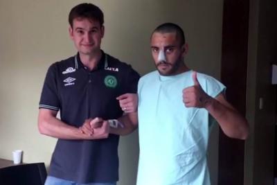La recuperación va bien, espero ir pronto a Brasil: sobreviviente del Chapecoense