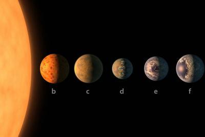 Conozca el sistema solar con planetas como la Tierra que descubrió la Nasa
