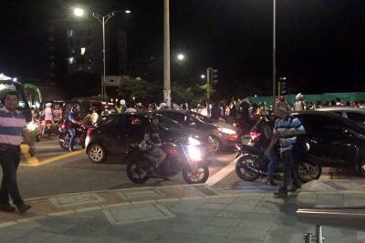La 'Marcha de los Faroles' salió de varios puntos de Bucaramanga.