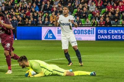 Falcao marcó al minuto 78 tras un pase de su compañero Rachid Ghezzal.