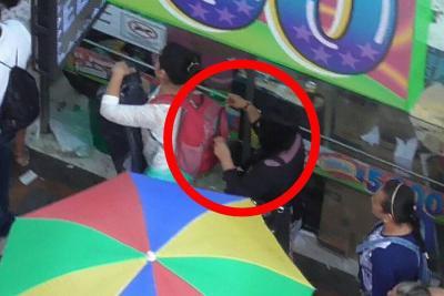 Así cometía los robos una banda de 'cosquilleros' en Bucaramanga