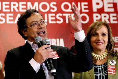 Gustavo Petro, el candidato de izquierda para la Presidencia