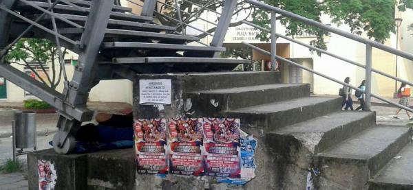 Puente de la ciudadela Real de Minas en Bucaramanga requiere pronta intervención