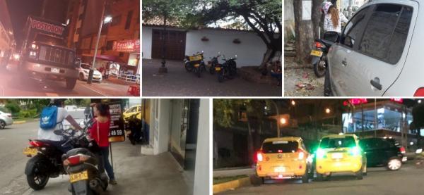 Cinco 'perlas' de la invasión del espacio público en Bucaramanga