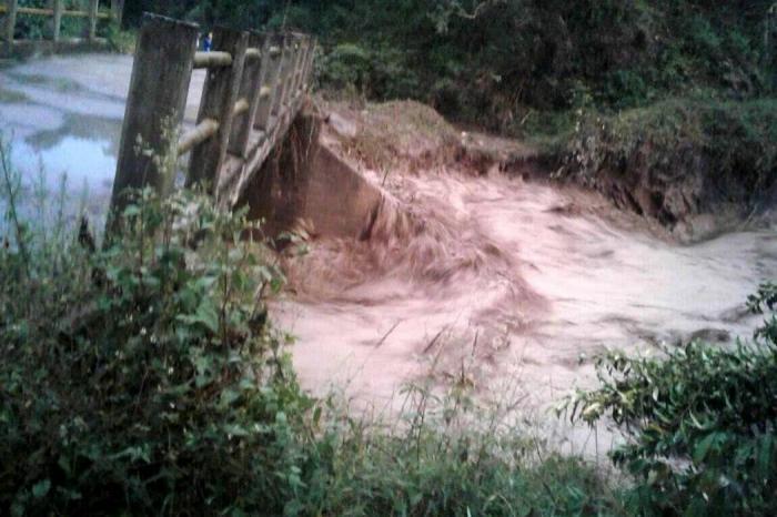 Avalancha en Gachetá, Cundinamarca, deja tres personas desaparecidas