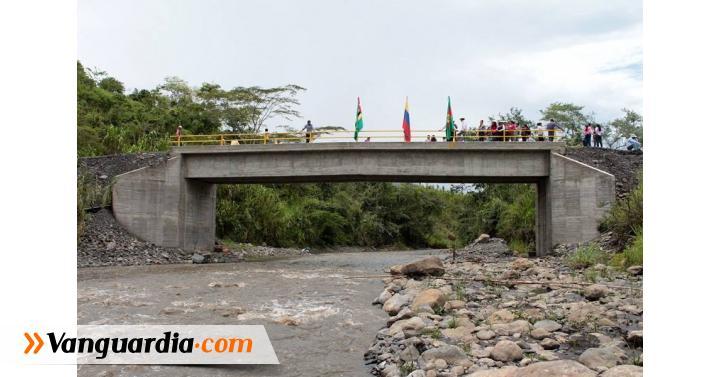 Inauguraron puente vehicular entre Güepsa y Chipatá - Vanguardia Liberal