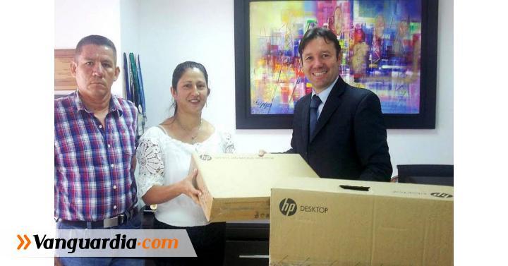 Guavatá, Chima y Cimitarra recibieron apoyo tecnológico de la ... - Vanguardia Liberal
