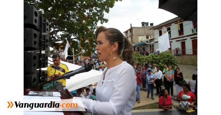 Alcaldesa de San José de Pare reclamó recursos para obras - Vanguardia Liberal