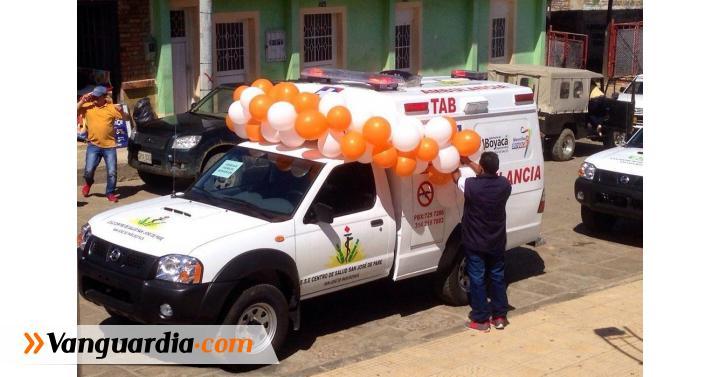 Entregaron ambulancia medicalizada para el Hospital de San José ... - Vanguardia Liberal