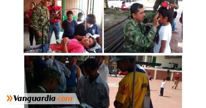El Ejército realizó jornada en Guavatá - Vanguardia Liberal