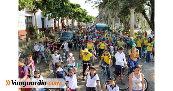Gran acogida al ciclopaseo desde Puente Nacional hasta Guavatá - Vanguardia Liberal