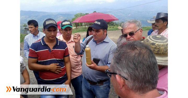 Por construcción de galpones contaminaro fuente hídrica en Guapotá - Vanguardia Liberal