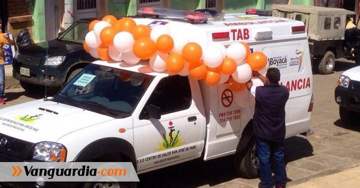 Entregaron ambulancia medicalizada para el Hospital de San José de Pare - Vanguardia Liberal
