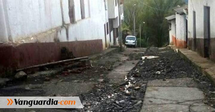 Vías y viviendas están deterioradas en Macaravita. | Región ... - Vanguardia Liberal