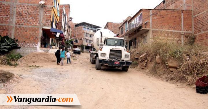 El barrio Mirador de San Juan espera el pavimento de sus calles - Vanguardia Liberal