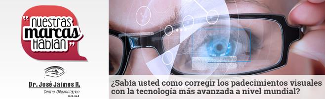 ¿Sabía usted como corregir los padecimientos visuales con la tecnología más avanzada a nivel mundial?