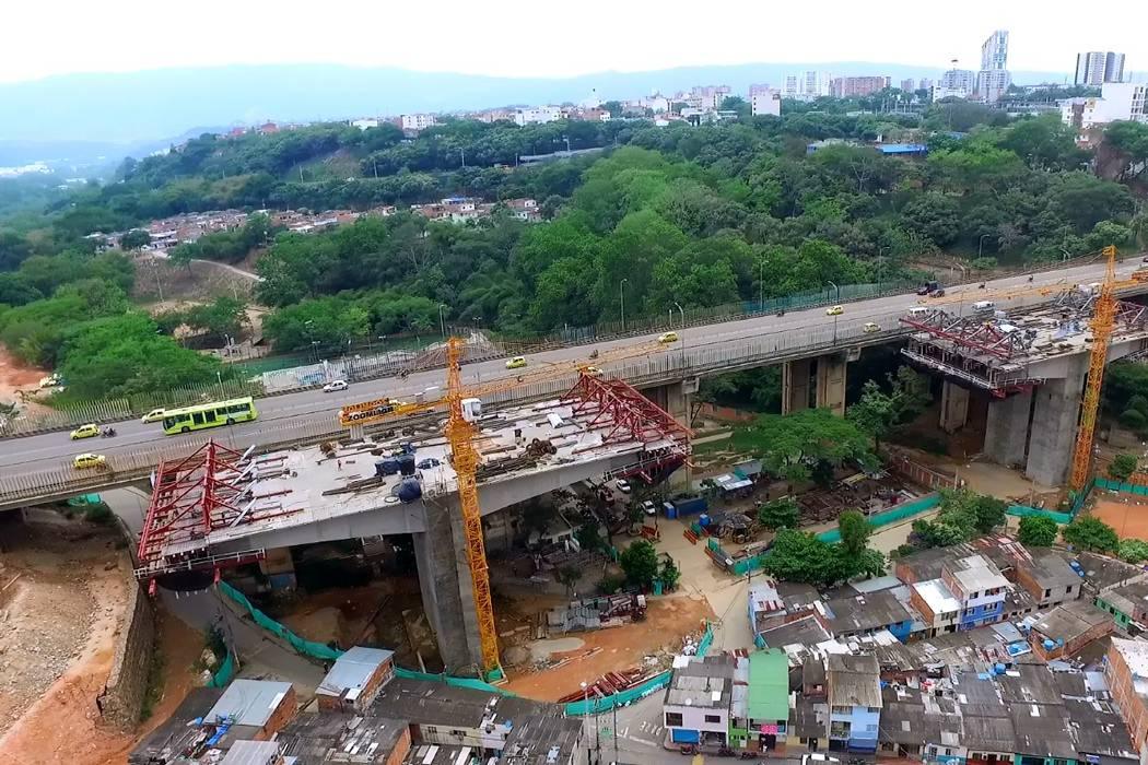 Desde un drone, conozca avances de construcción del Viaducto de La Unión
