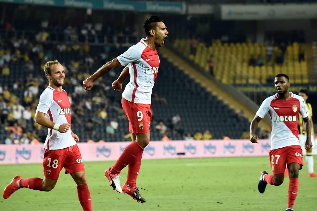 Después de seis años, Falcao volvió a marcar en la Liga de Campeones
