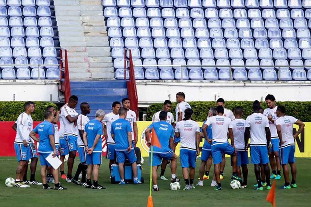 La Selección Colombia volvió a su hogar, el estadio Metropolitano