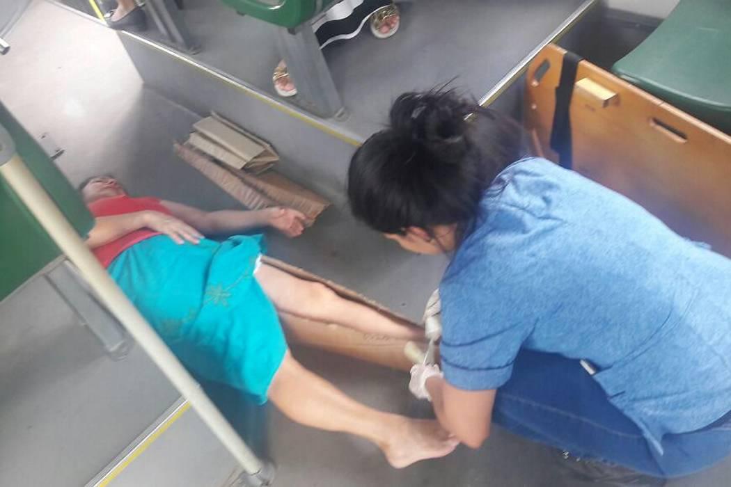 Cinco mujeres resultaron heridas en un accidente de Metrolínea en Bucaramanga