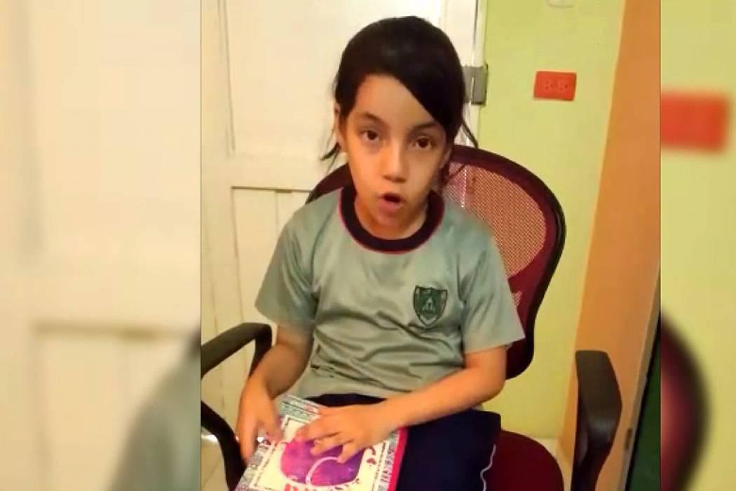 Vea qué respondió Presidente Santos a niña santandereana que pidió ayuda con su tarea
