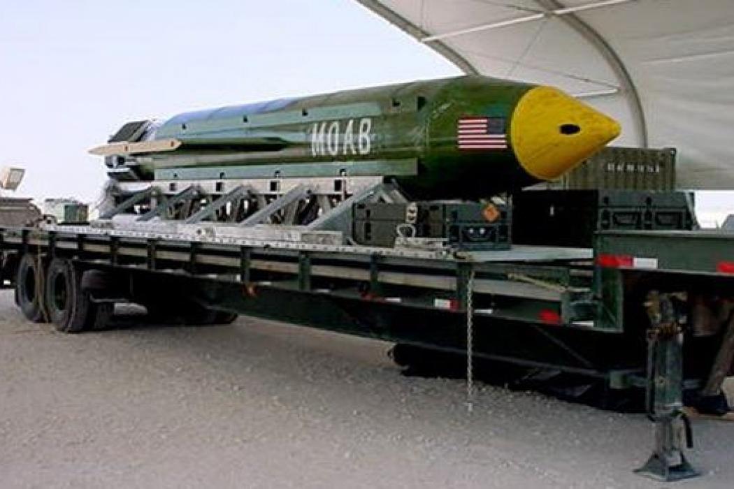 Así fue el impacto de la bomba no nuclear más poderosa de Estados Unidos