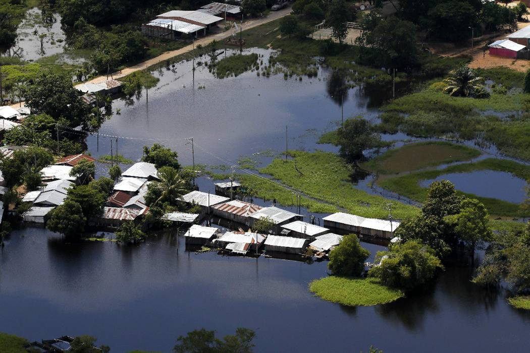 Devastador video de inundaciones por el invierno en Santander