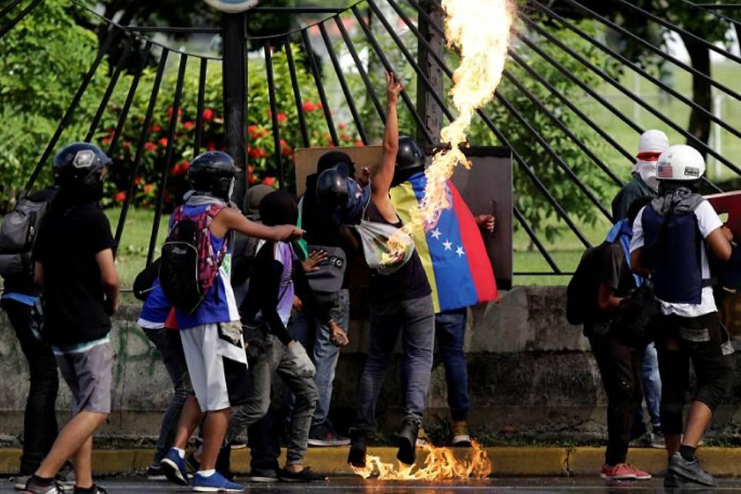 Nuevos disturbios se registraron este viernes en Venezuela
