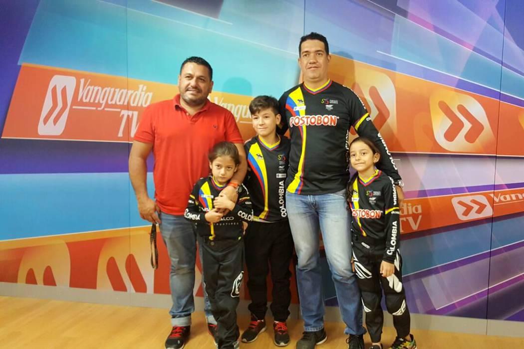 Cinco bumangueses participarán en el Mundial de BMX en Estados Unidos