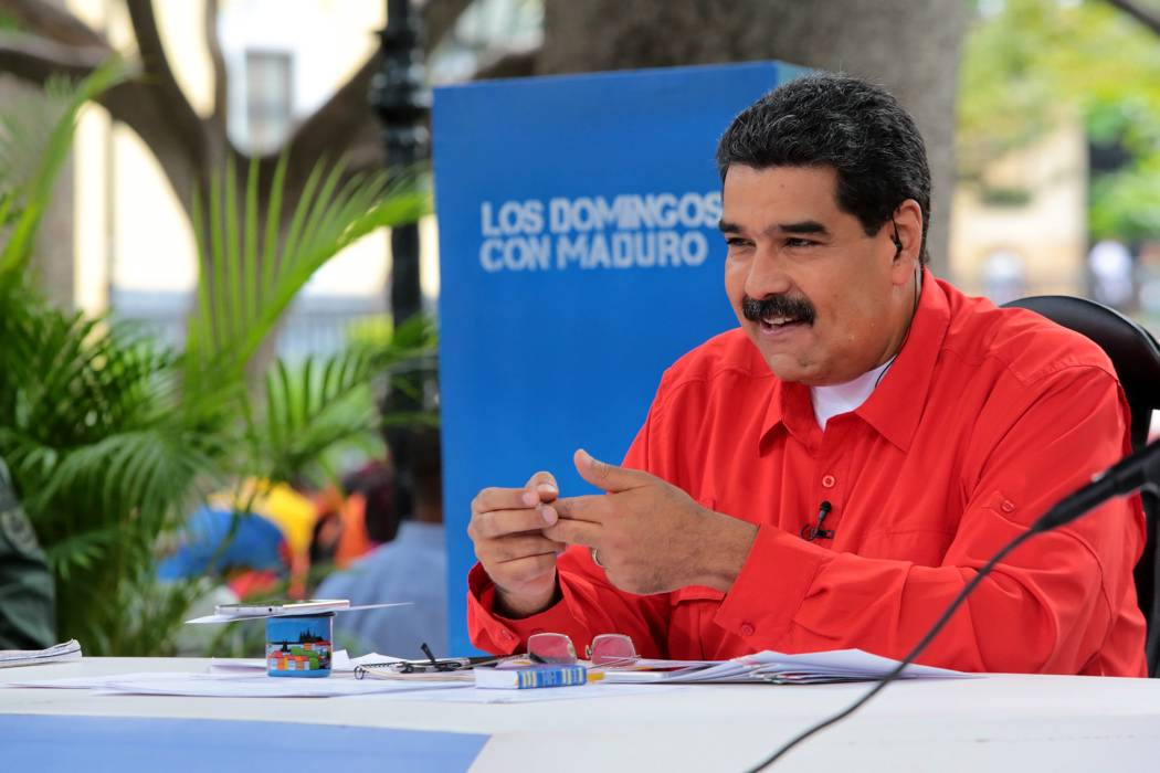 Maduro atacó al