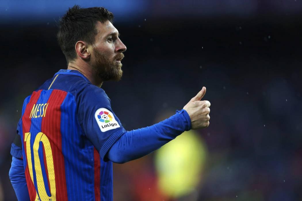 ¿Qué ingirió Messi en pleno partido ante Olympiakos?