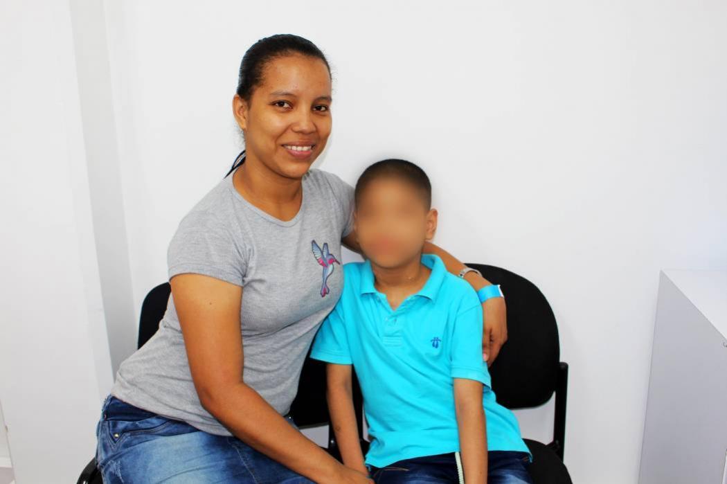 Madre hace llamado a EPS para autorizar exámenes vitales para su hijo en Bucaramanga